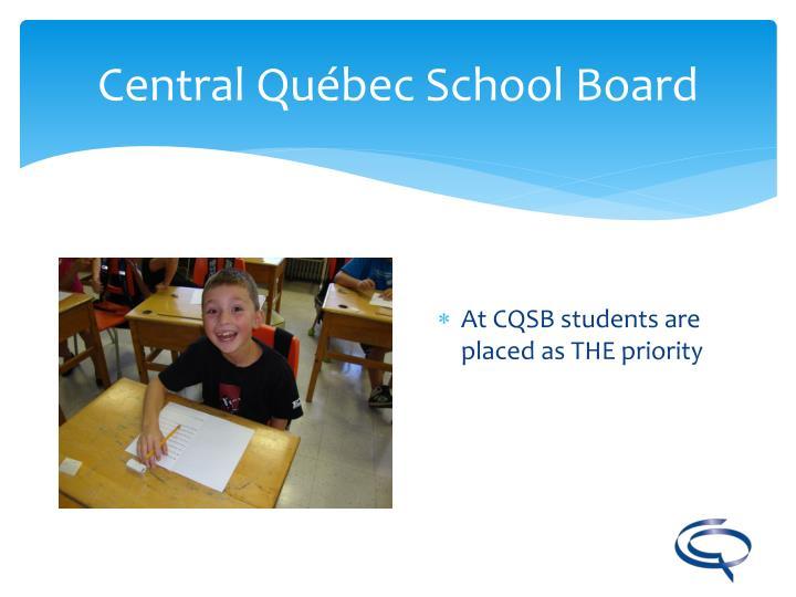 Central qu bec school board2