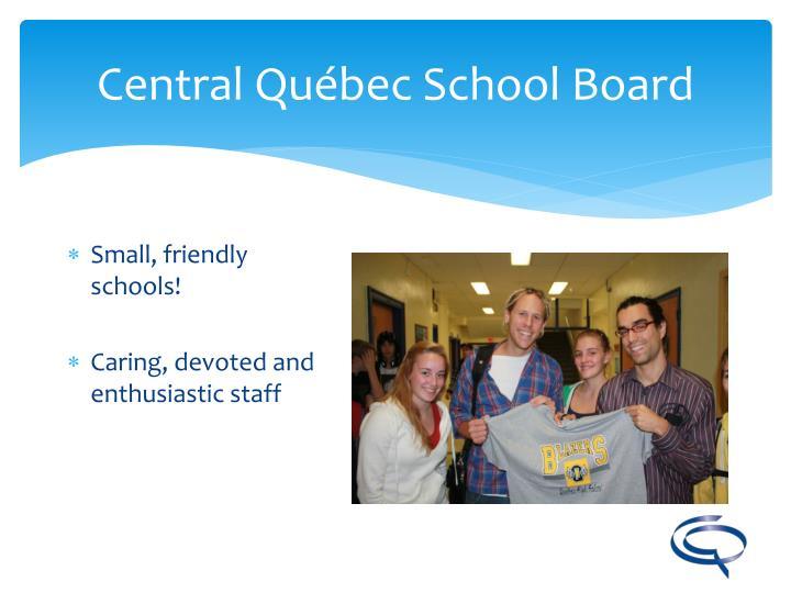 Central Québec School Board