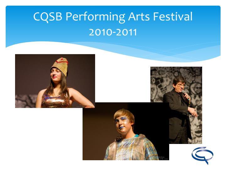 CQSB Performing Arts Festival