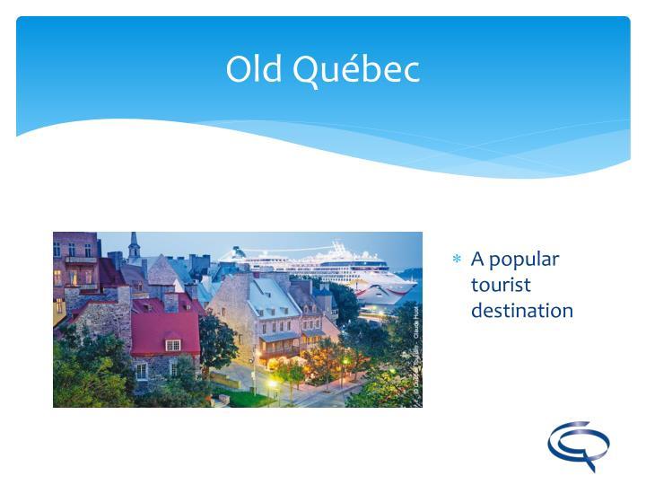A popular tourist destination