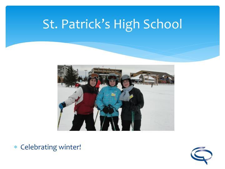 Celebrating winter!
