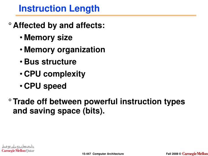 Instruction Length