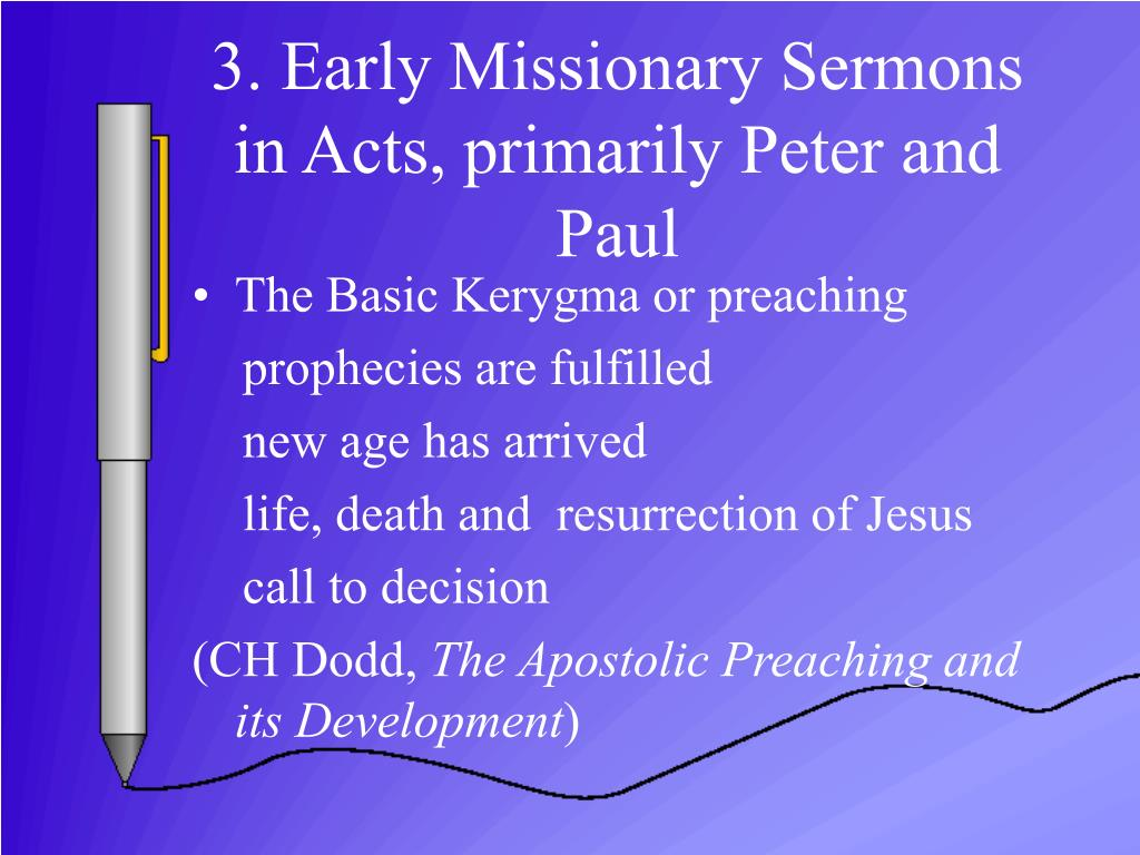 PPT - PREACHING in the New Testament PowerPoint Presentation