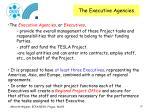 the executive agencies