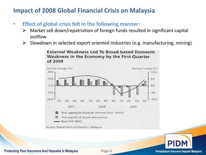 global financial crisis malaysia