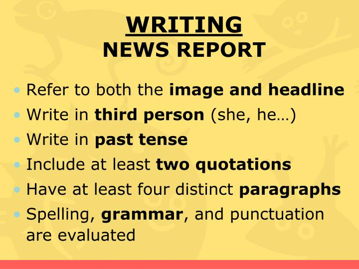writing in third person apa To write in third person, observe from an outside viewpoint by using 3 rd person pronouns or names why write in 3 rd person accomplishes the aim to sound like an authority ex: slideshow 2820893 by erv.