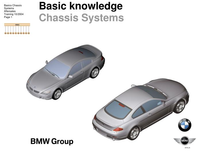 basic knowledge chassis systems n.