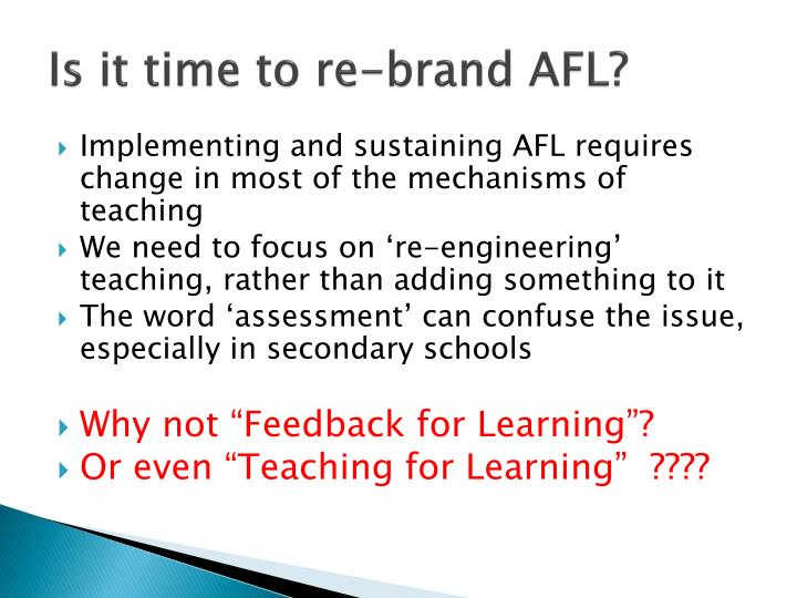 Is it time to re-brand AFL?