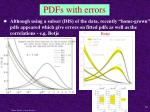 pdfs with errors
