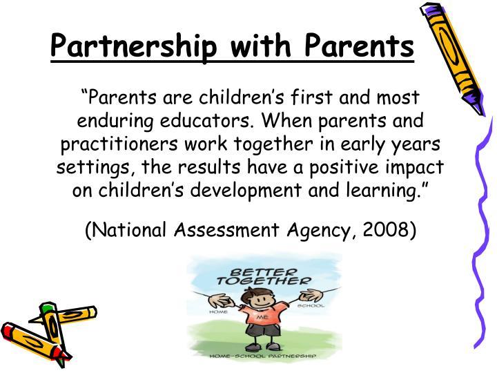 Partnership with Parents