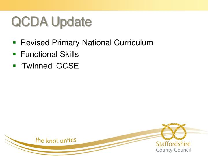 Revised Primary National Curriculum