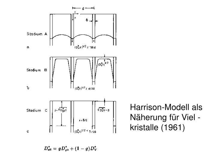 Harrison-Modell als