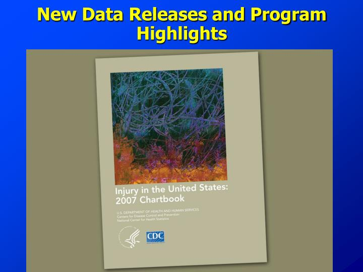 New Data Releases and Program Highlights