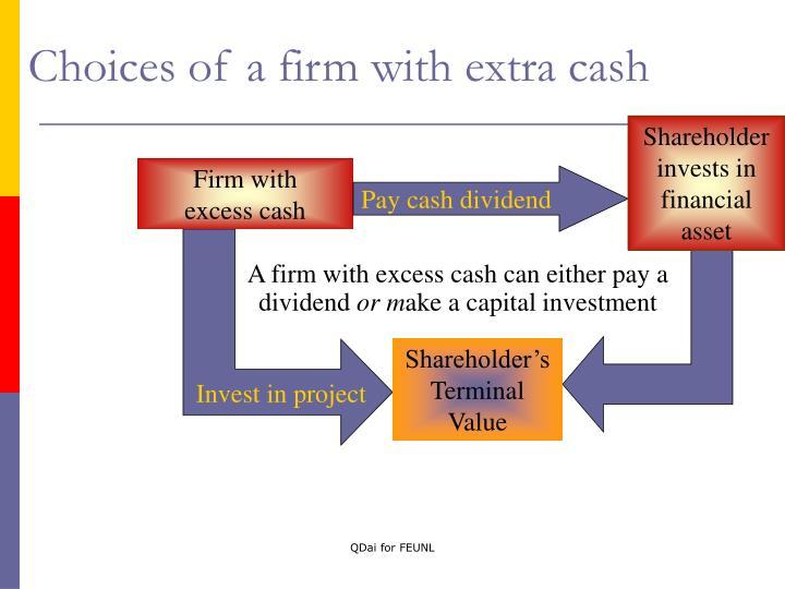 Pay cash dividend