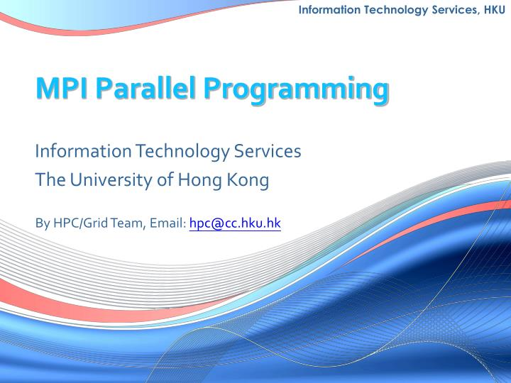 universal parallelism for hpc essay The isc high performance 2019 contributed program is now open to diverse submission opportunities it is the community's participation that makes our contributed program grow stronger each year.