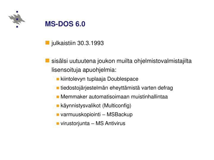 MS-DOS 6.0