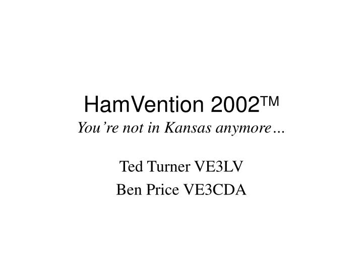 hamvention 2002 tm you re not in kansas anymore n.