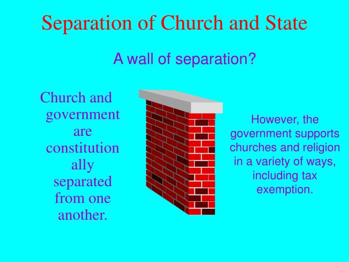 on separation of religion and state The abortion debate is, at heart, a debate over church-state separation.