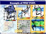 example of wrf fcst