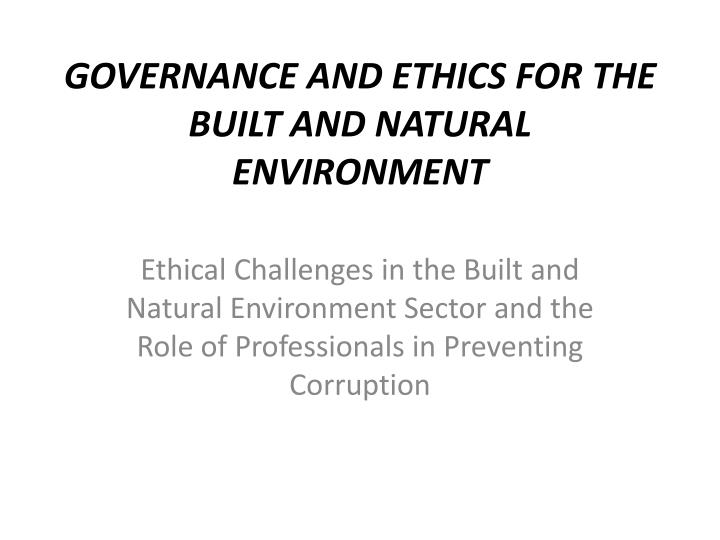 bp and ethics