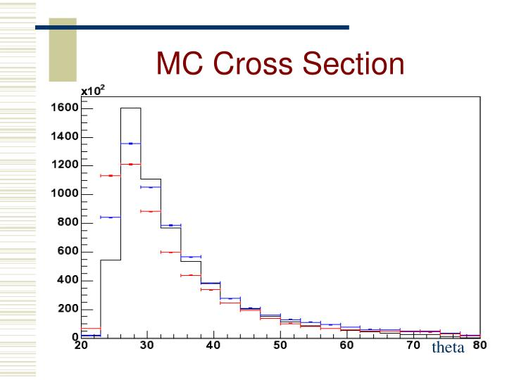 MC Cross Section