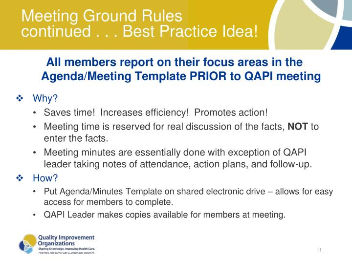 Meeting Ground Rules