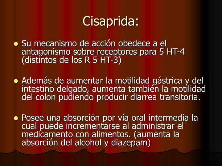 Cisaprida: