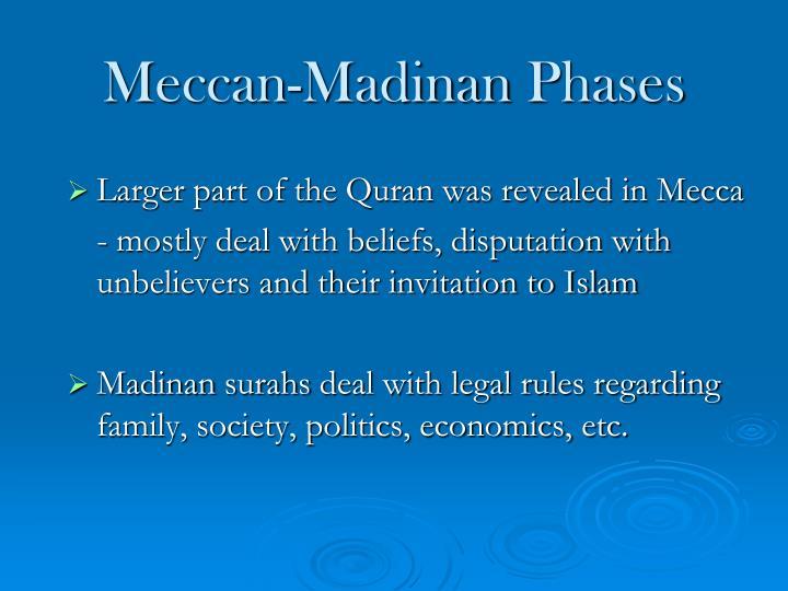 Meccan-Madinan