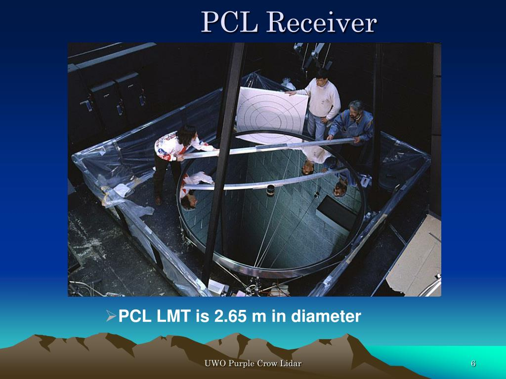 PPT - UWO's Purple Crow Lidar Studies Atmospheric Change
