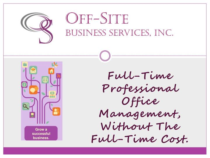 o ff s ite business services inc n.