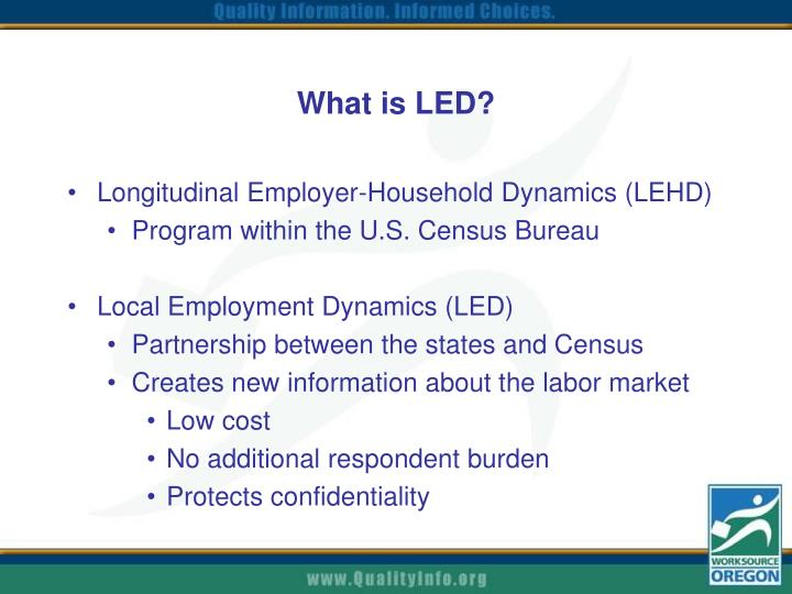 What is led
