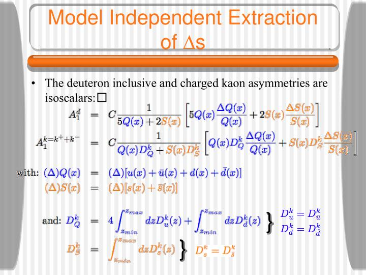 Model Independent Extraction of