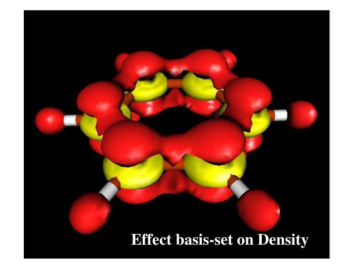 Effect basis-set on Density