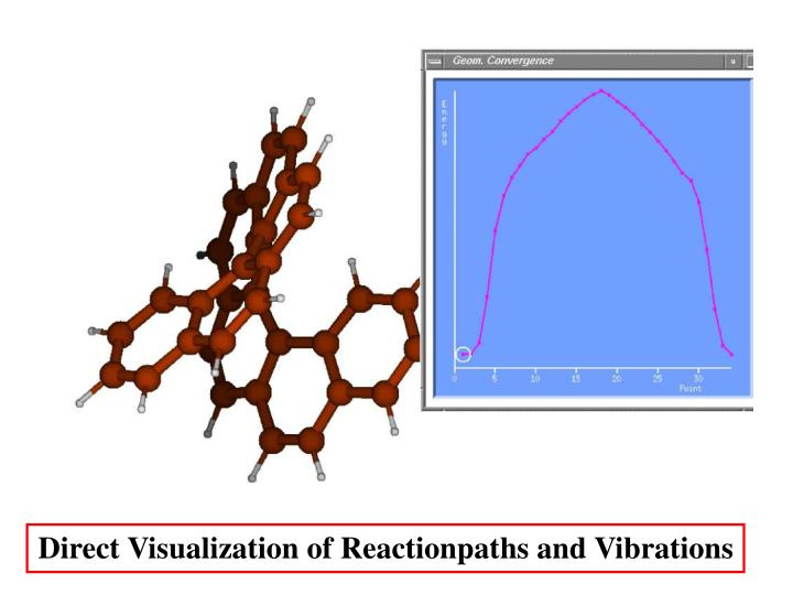 Direct Visualization of Reactionpaths and Vibrations