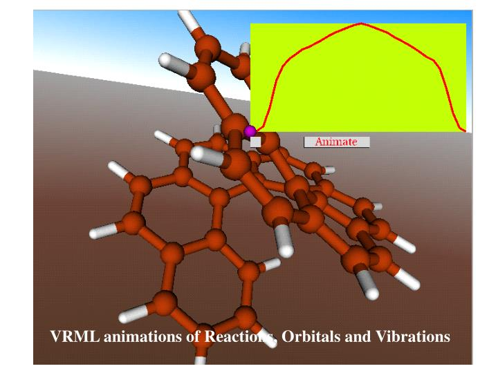 VRML animations of Reactions, Orbitals and Vibrations