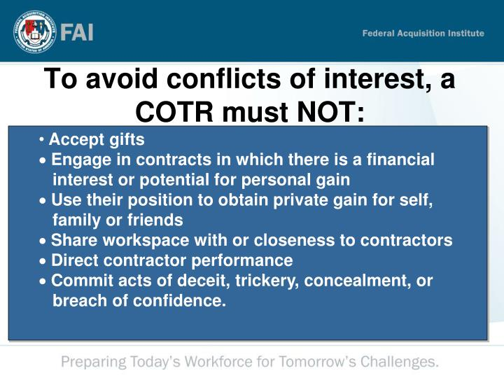 duty to avoid conflicts of interests Duties when facing a conflict o it is a duty to avoid a situation but also d can take action to resolve the conflict that may create liability ie do they get this rule is so strict that that d canno argue that the transaction is in the commercial interests of the company o on facts: blaike -the partner/cpo.