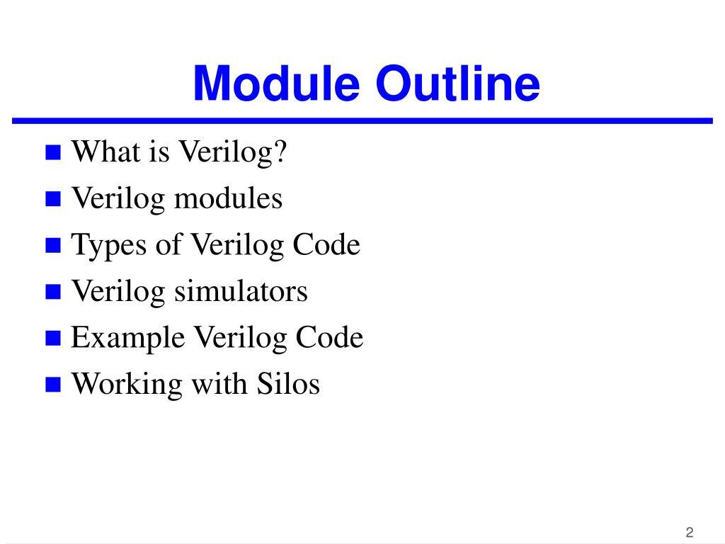 PPT - Verilog PowerPoint Presentation - ID:5198890
