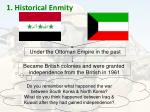 1 historical enmity