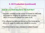 3 oil production continued1