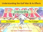 understanding the gulf war its effects