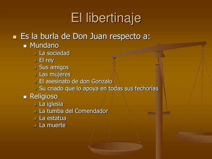 El libertinaje
