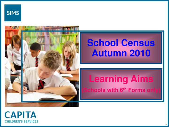 School census autumn 20101