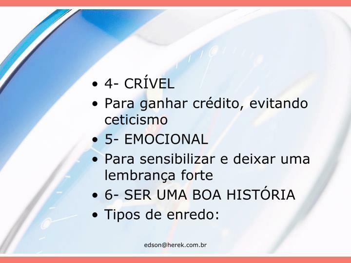4- CRÍVEL