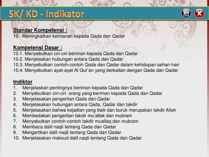 Ppt Judul Iman Kepada Qadha Qodar Powerpoint Presentation Id