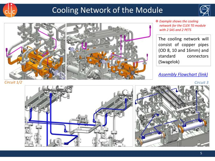 Cooling Network of the Module