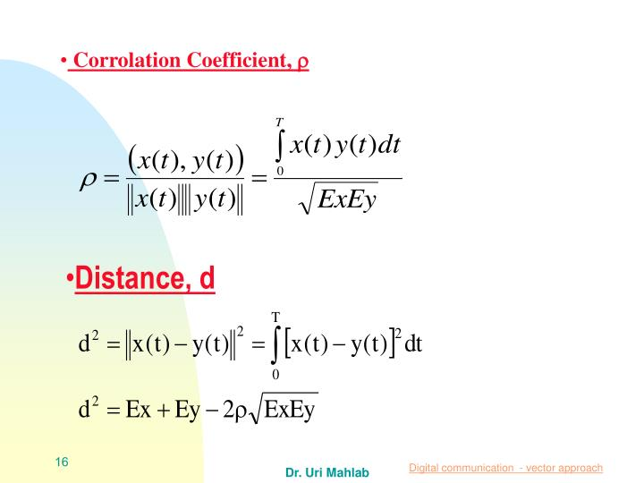 Corrolation Coefficient,