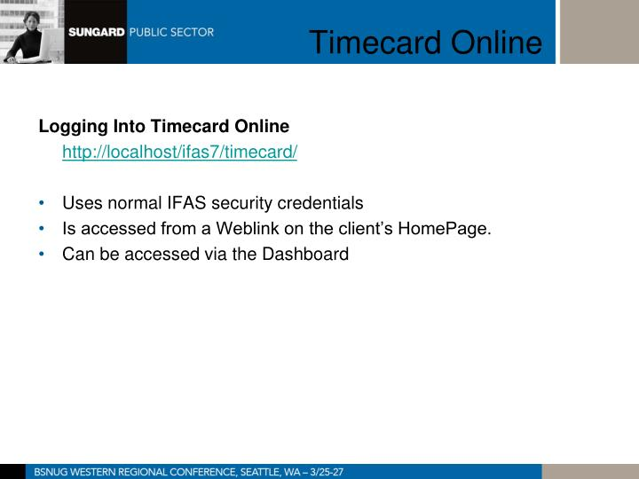Timecard online2
