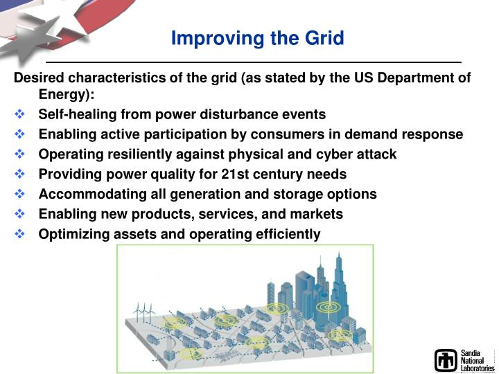 Improving the Grid