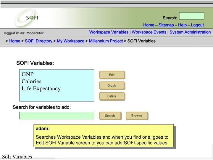 Workspace Variables