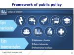 framework of public policy
